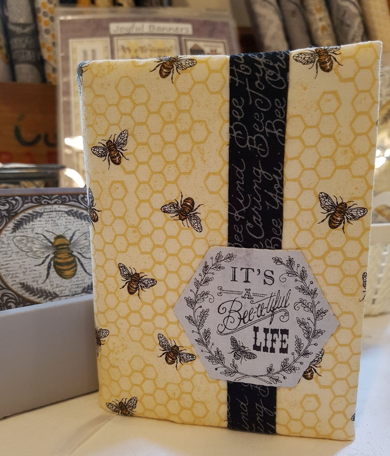Bee-utiful Mini Journal Cover Kit