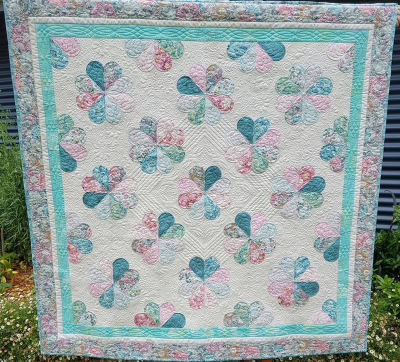 'Bohemian in Bloom' Quilt Kit