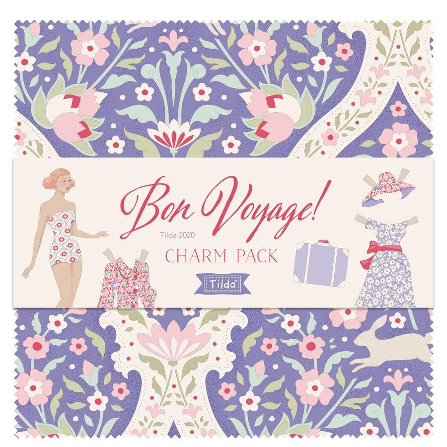 Bon Voyage by Tilda, Charm Pack