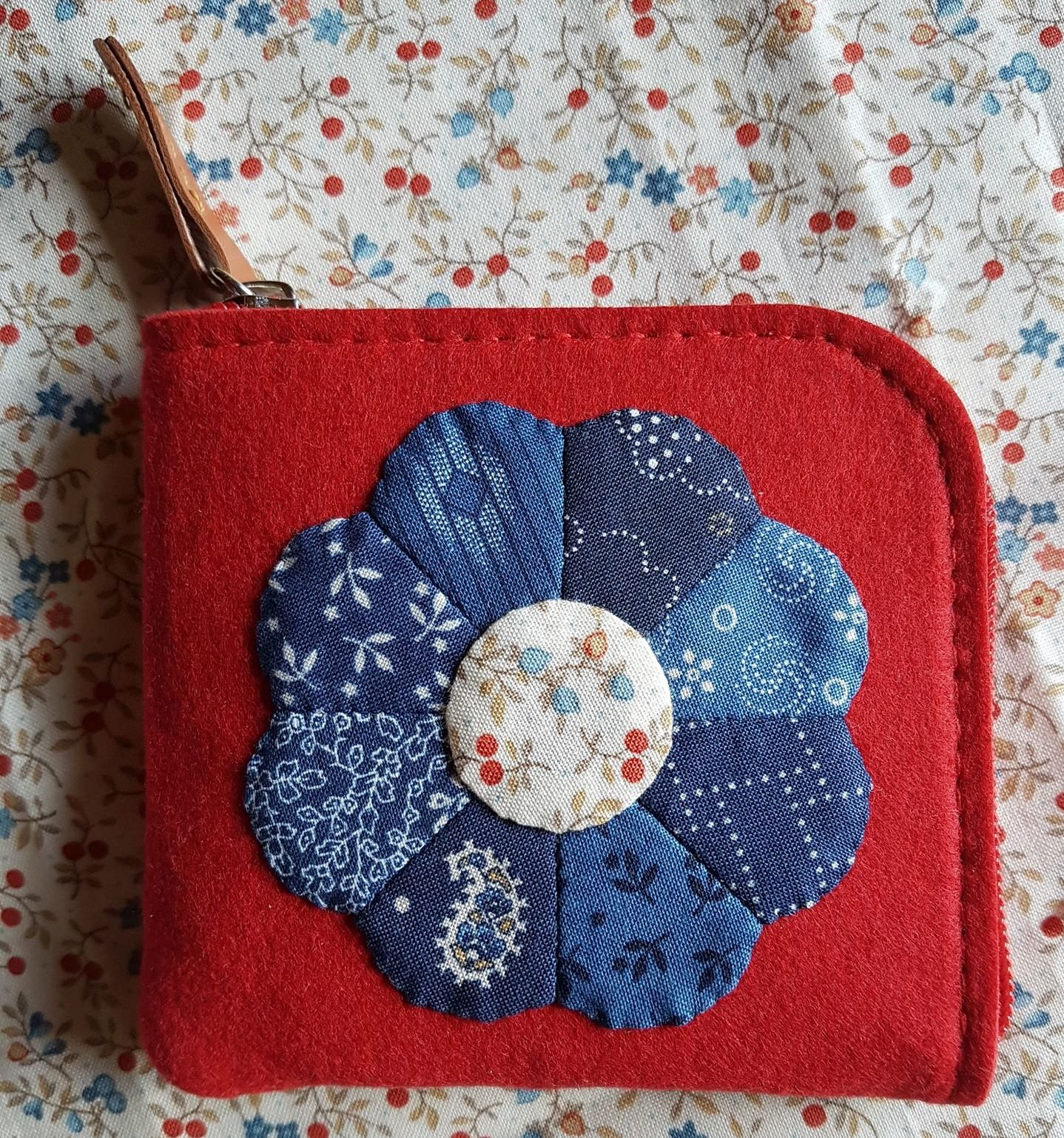 Mini Dresden Felt Purse kit