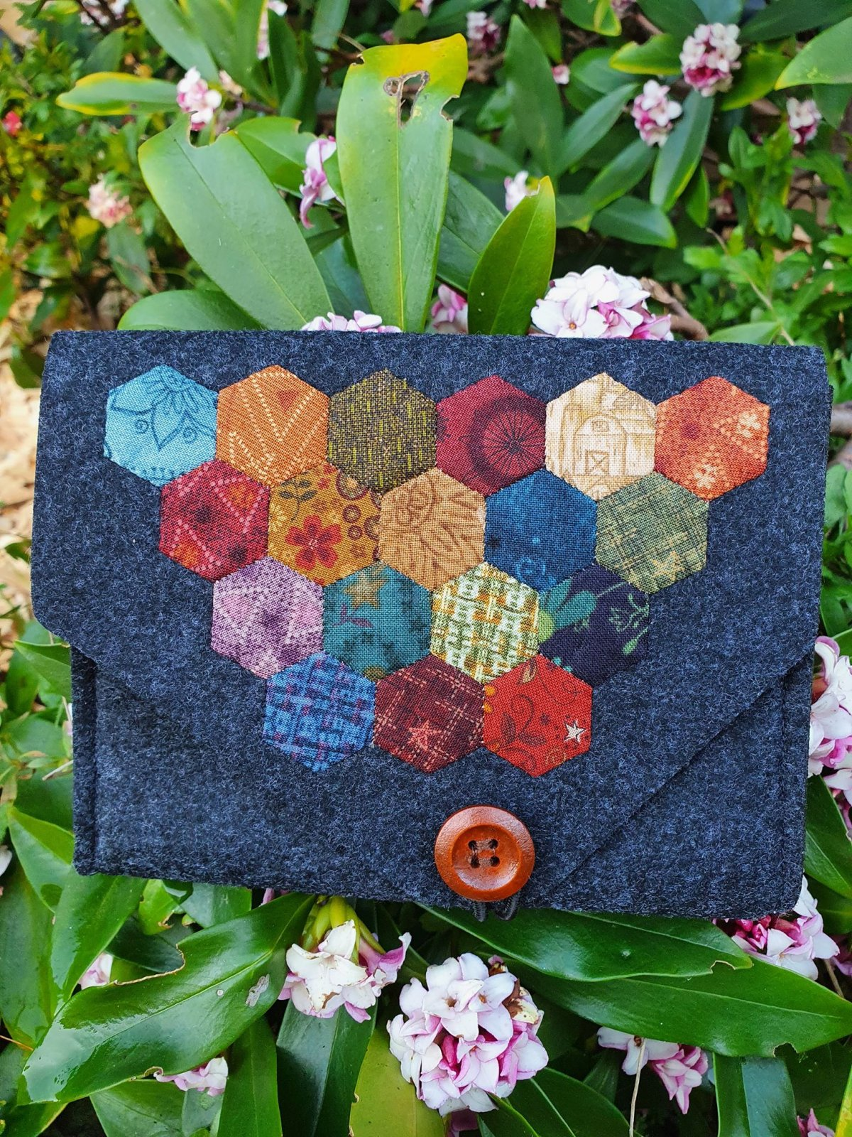 Janet's Felted Pouch kit
