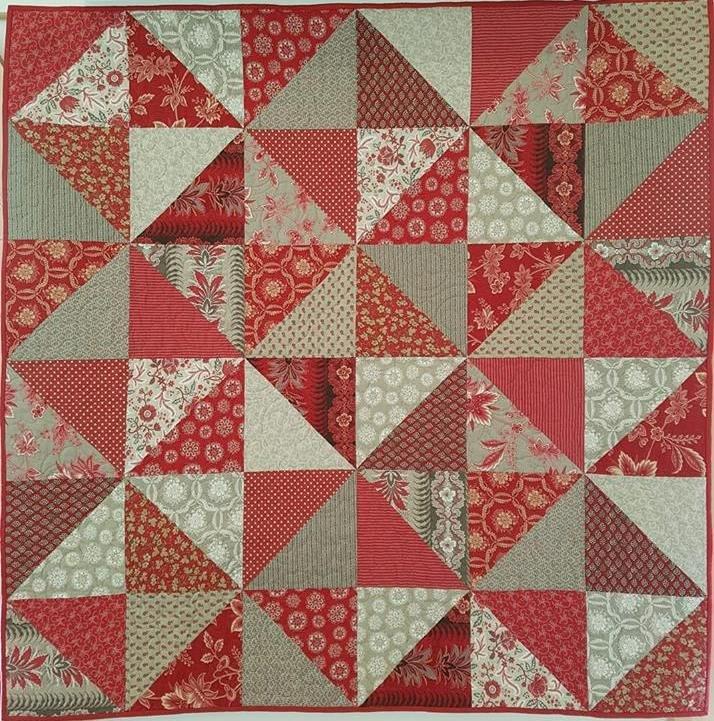 'Amour Rouge' Quilt Kit