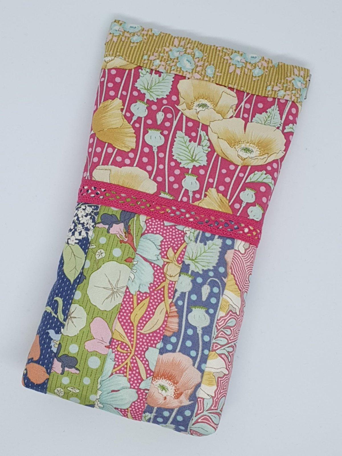 Floral Snap Bag kit