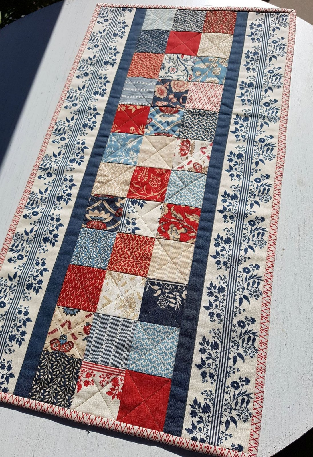 French Candy Table Runner