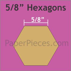 5/8 Hexagons