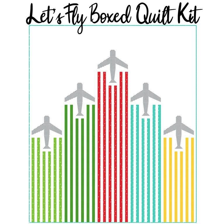 MKIT20720 : Let's Fly Quilt Kit
