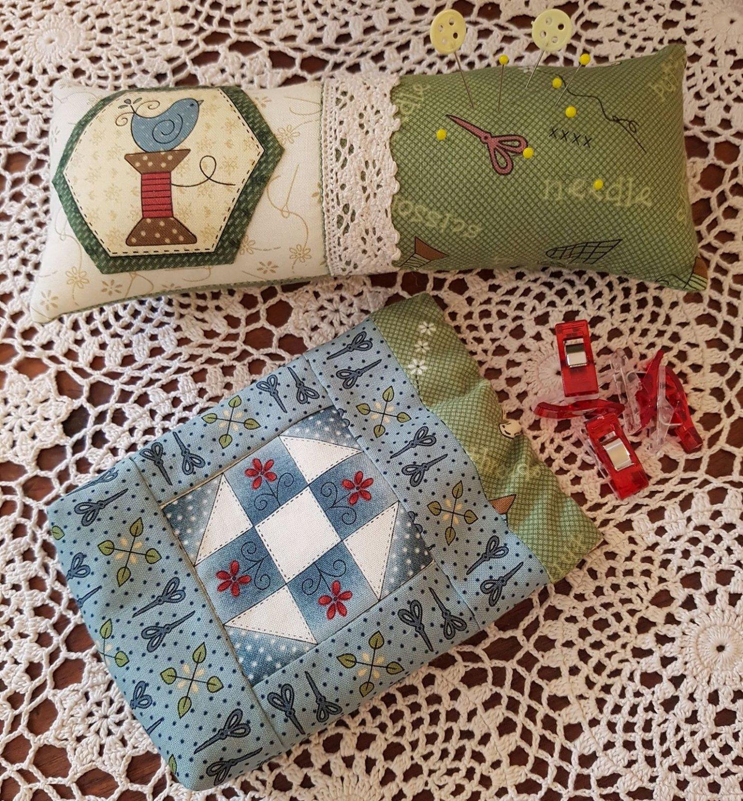 Home Sewn Sewing Set Kit