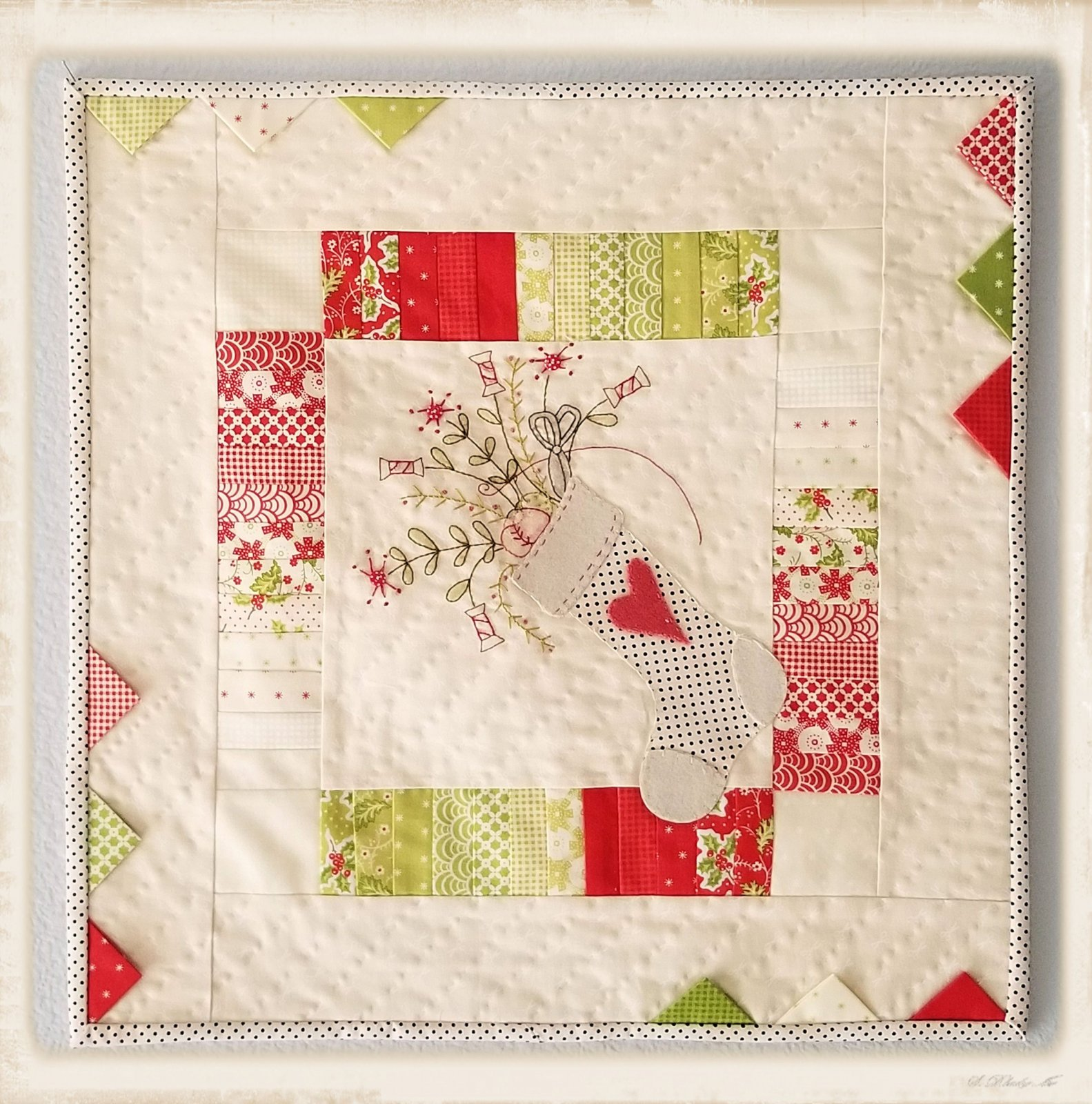 A Stitcher's Stocking Pattern