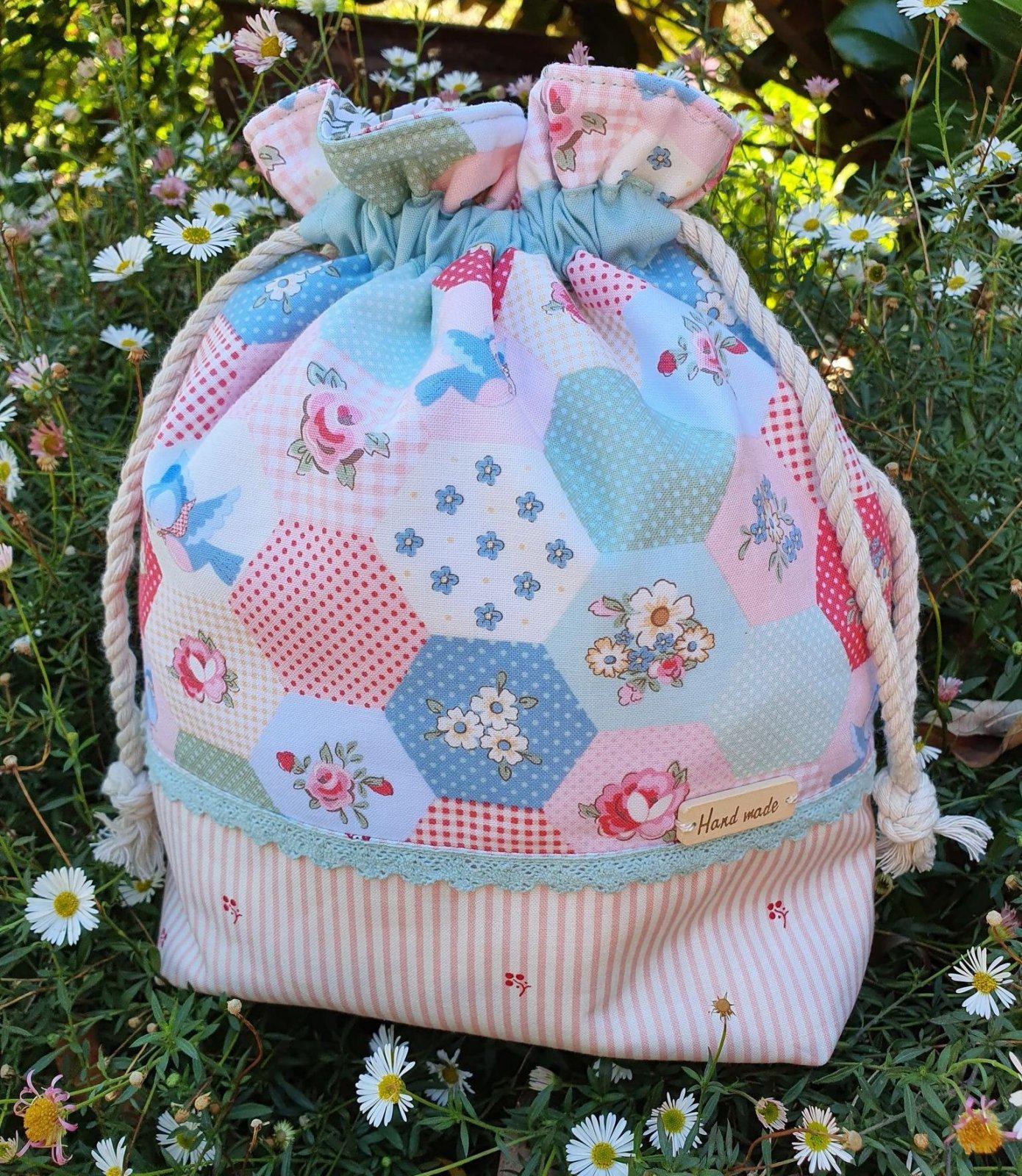 Poppie's Drawstring Bag kit