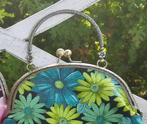 Purse Frame with handle