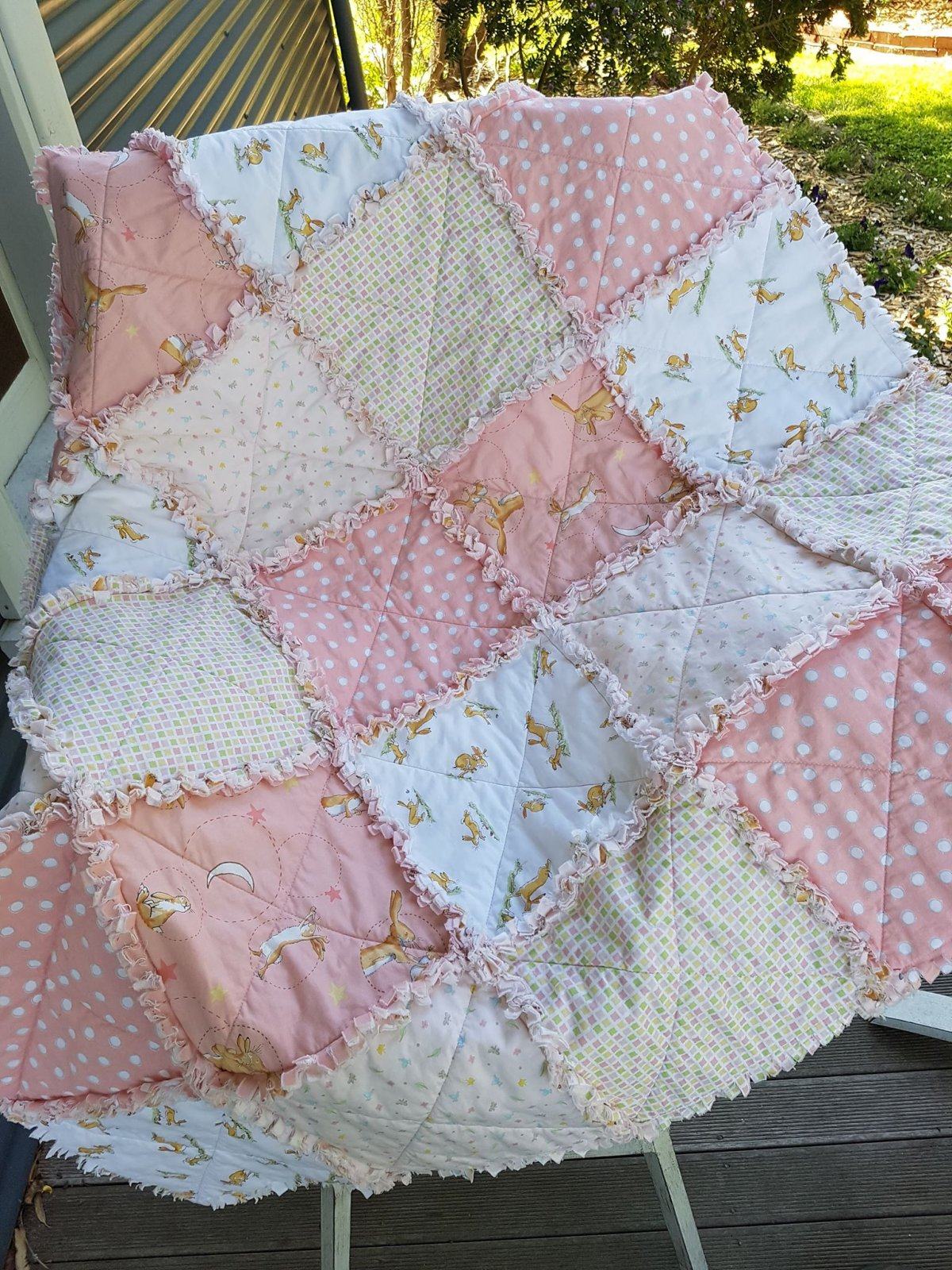 Raggy Quilt Kit