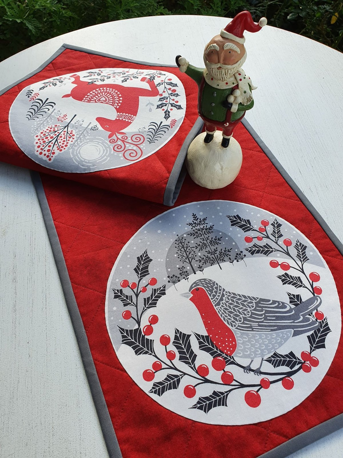 Scandi Christmas Table Runner kit