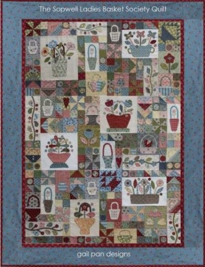 Sopwell Ladies Basket Society Quilt