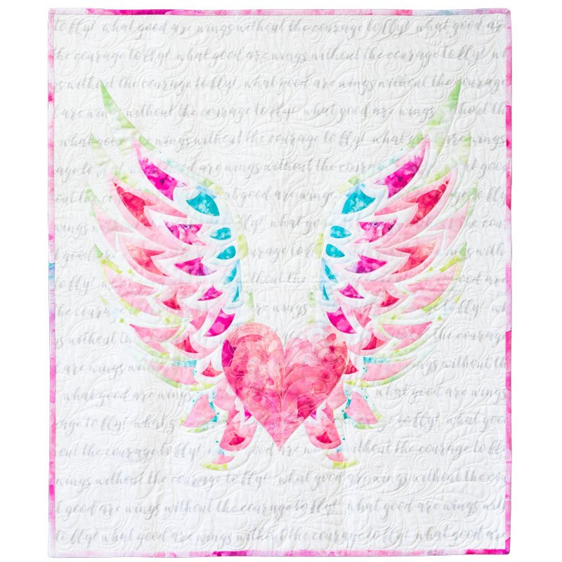 'Spread your wings' baby quilt kit