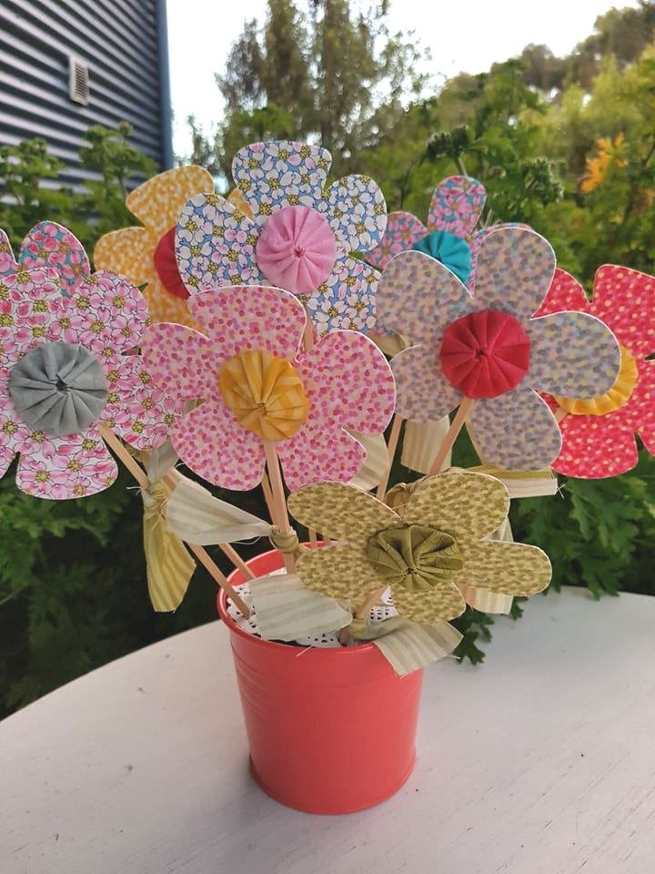 'Springtime Flowers' kit