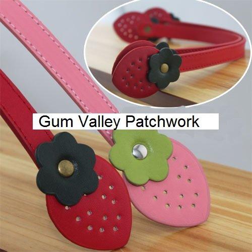 Strawberry Style bag handles