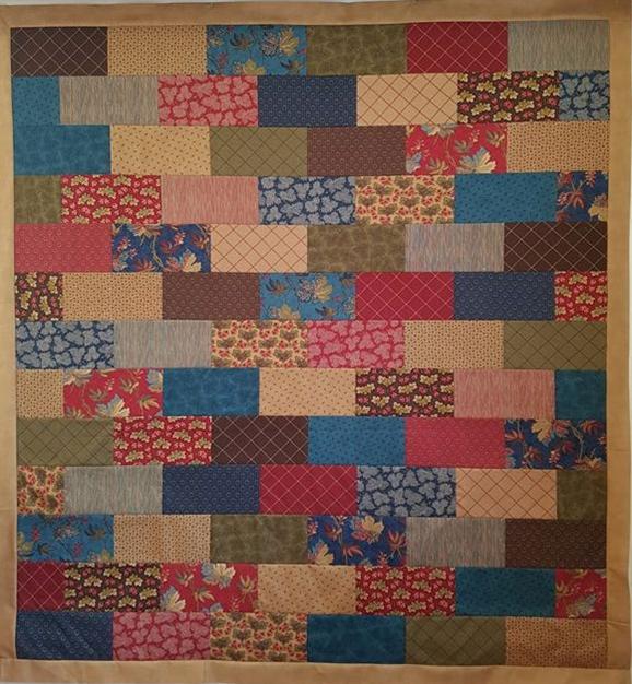 Sycamore Bricks Quilt Kit