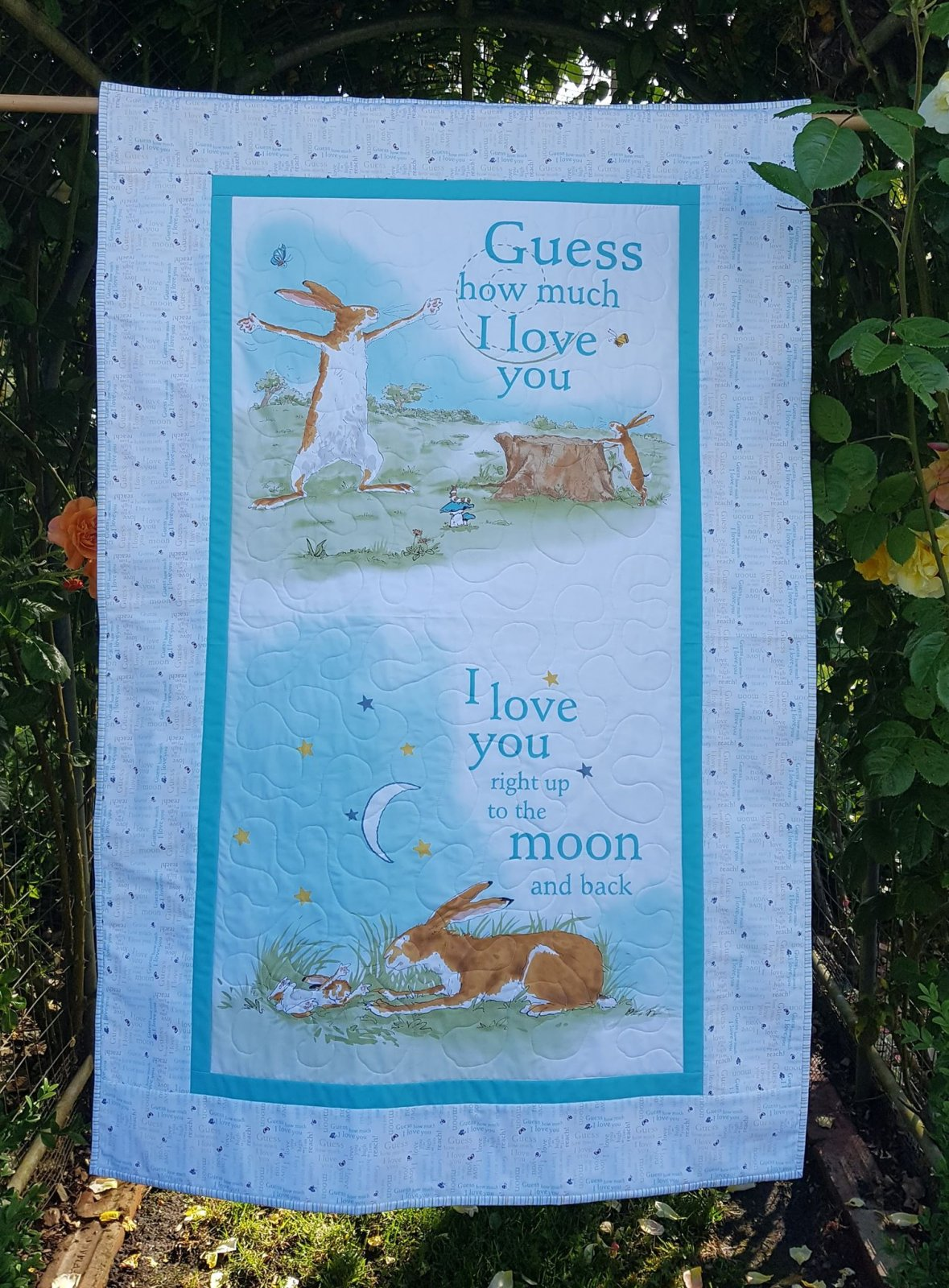 'To the moon and back' quilt kit