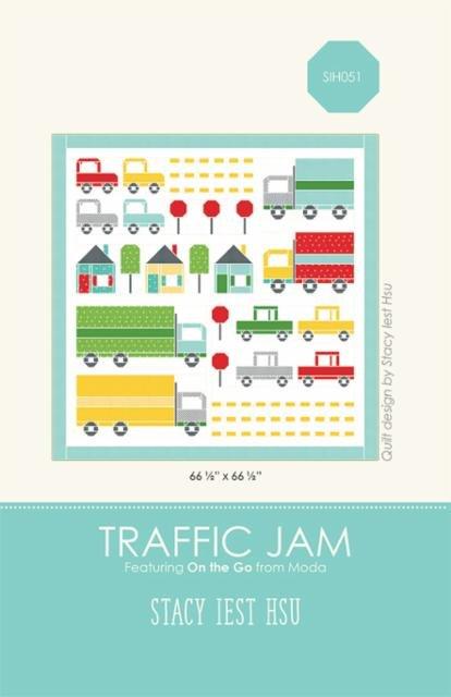 'Traffic Jam' Quilt Pattern