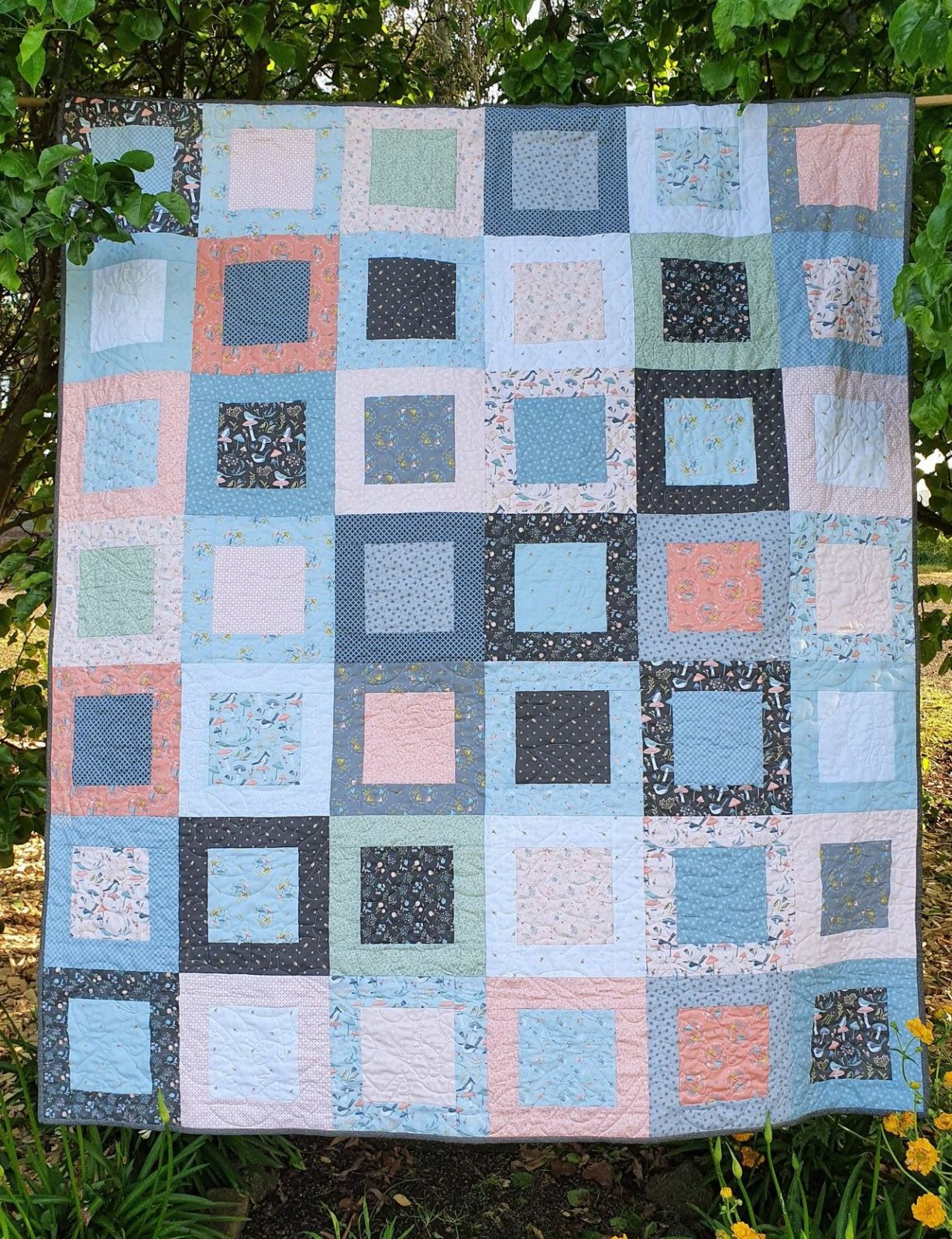 Songbirds in Spring Quilt kit