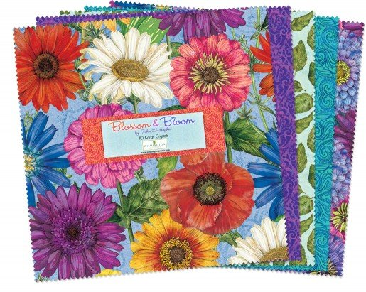 10in Squares Blossom & Bloom 42 pc