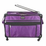 Tutto Machine Case On Wheels 2X Large 28in Purple