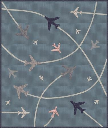 Air Show Quilt Pattern