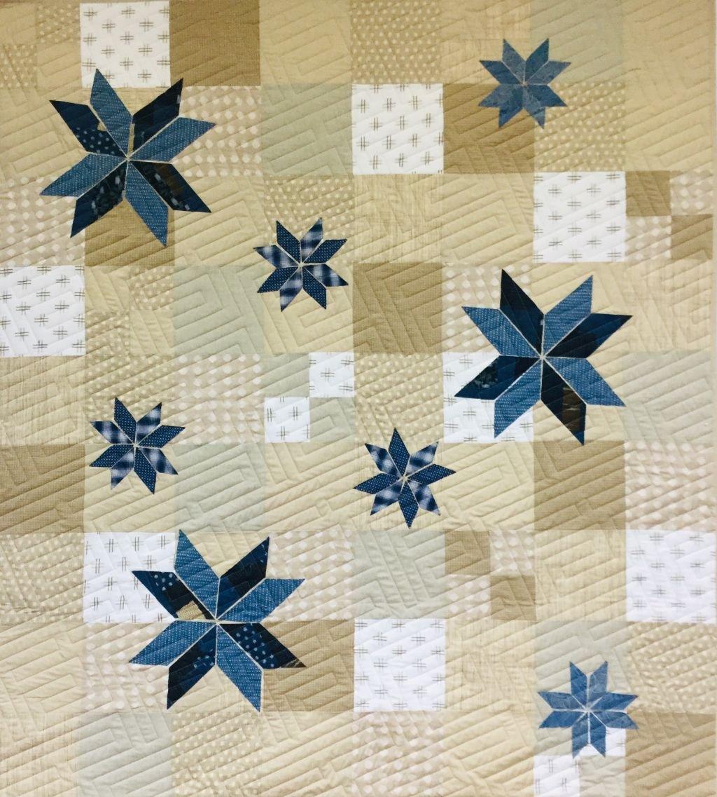 Boro Quilt  64 x 72