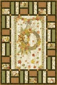 Fall Foliage Quilt 39 x 53