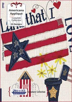 Floriani - Signature Collection:  Americana Applique