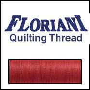 Floriani - CS021 Cotton Quilting Thread - Red