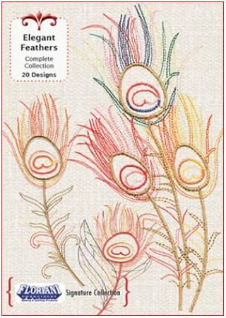 Floriani - Signature Collection:  Elegant Feathers