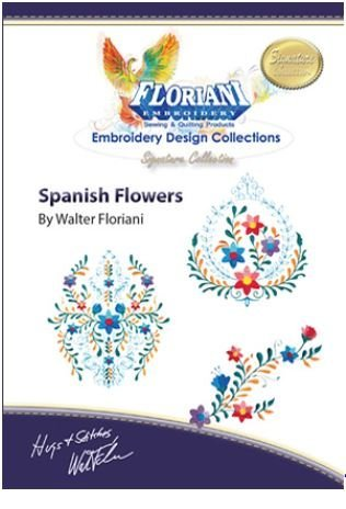 Floriani - Design Collection:  Spanish Flowers