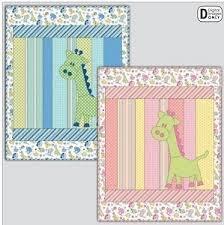 Finished Quilt - Georgi Giraffe Pink