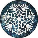 Scandinavian Snowflakes Teal Kits