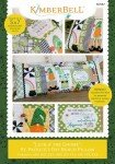 Kimberbell Luck O The Gnome Bench Pillow Machine Embroidery CD