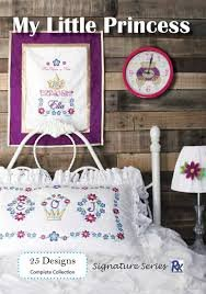 Floriani - My Little Princess Machine Embroidery Designs