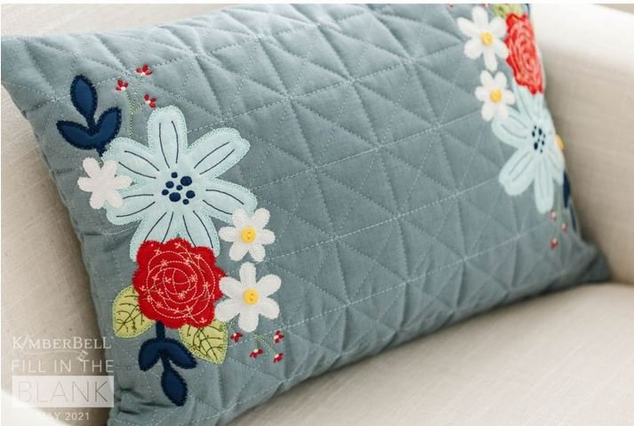 Quilted Pillow Cover Blank