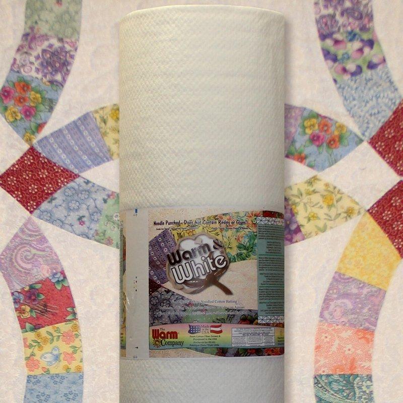 Warm & White 124 Cotton Batting