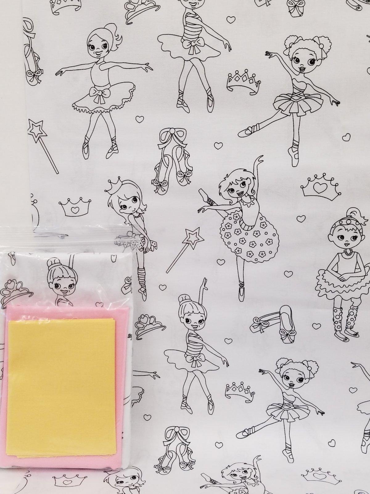 Ballerina Pillowcase Kit