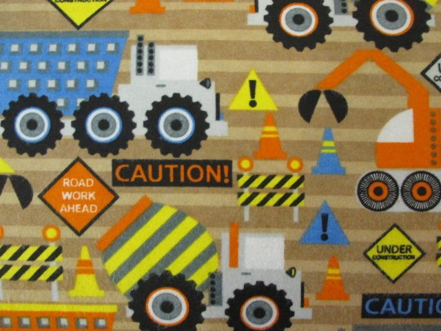 Construction Trucks Flannel - 50% Off!