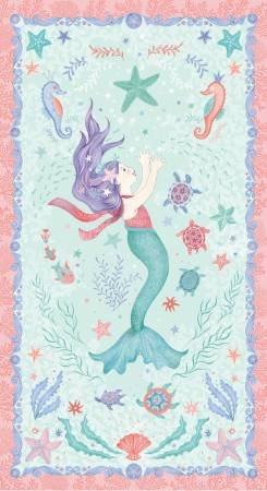 Mermaid Dreams Collection Panel