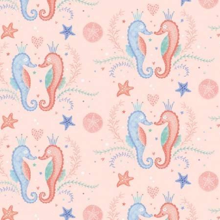 Mermaid Dreams Collection - Pink Seahorses