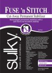 Fuse n Stitch by Sulky - Cut-Away Permanent Stabilizer