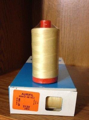 Aurifil Thread - 50 wt - 1422 yds per spool - Asst Colors