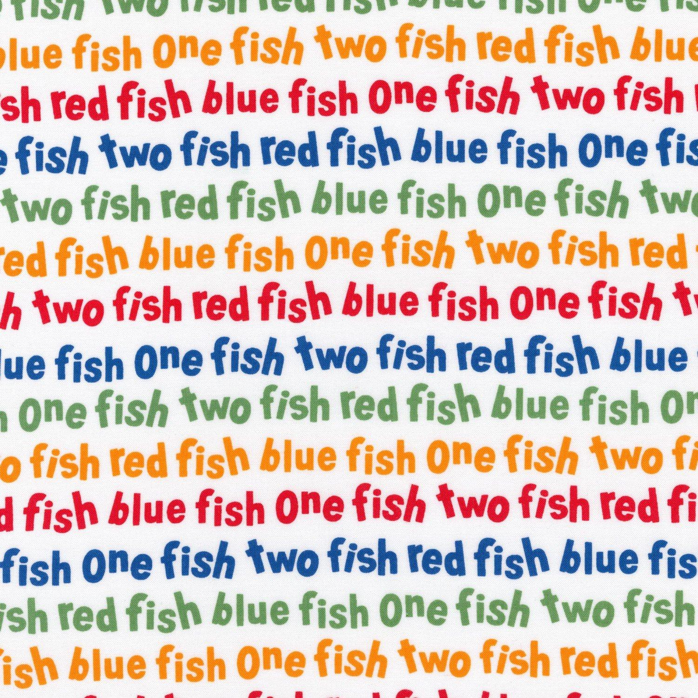 Dr. Seuss - Celebration Dr. Seuss One Fish Two Fish Words