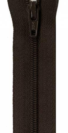 Black Walnut 14 YKK Zipper