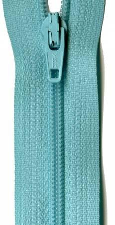Misty Teal 14 YKK Zipper