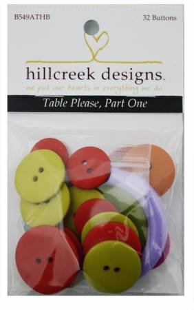 32 piece Button Pack for Table Please Part 1 Book