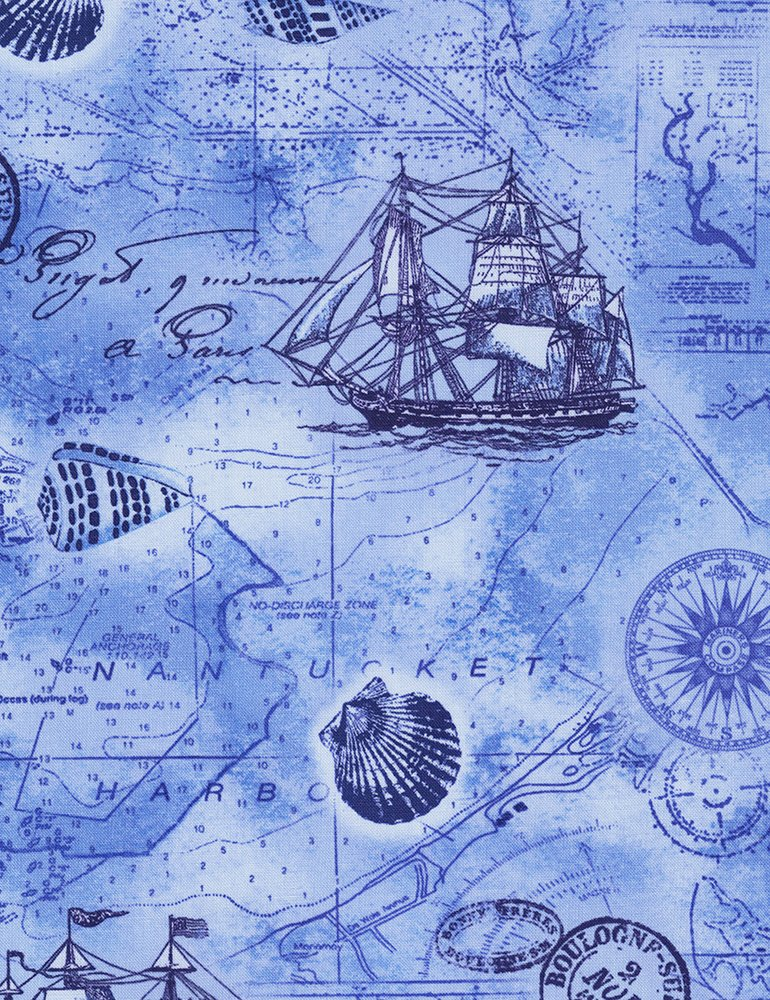 Beach - Blue Ocean Map